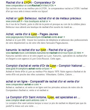 capture de Google